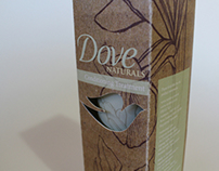 Packaging Design - 'Dove Naturals'