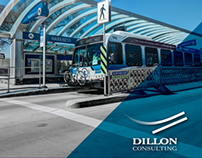 Dillon Consulting Transit Marketing Materials