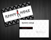 Runway Avenue Business Card Design