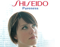 Shiseido Advertisement: Pureness Skincare Line