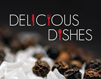 Delicious Dishes Cookbook Design