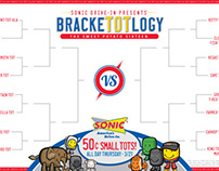 SONIC BrackeTOTlogy social media campaign