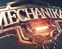 MECHANIKA - steampunk 3d Title styleframes