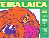 Feira Laica Poster 2012
