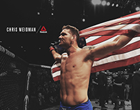 Reebok x Chris Weidman Graphic Tee