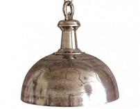 Type kroonluchter. De eerste moderne lampen