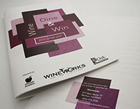 Wine, Dine & Win Charity Event, wine list catalog