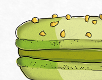 Macaron Illustrations