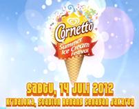 Cornetto Summer Ice Cream Festival Campaign