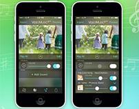 Video sound app design
