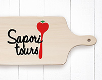Identity for Gastronomic culinary tours in Sicily