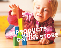 Internet-shop of children's goods.