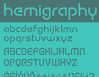 HEMIGRAPHY FREE FONT