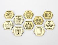 Destination: Play Achievement Badges