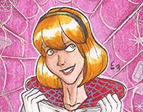 Marvel Gems Sketch Cards