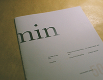 Min — Publication / Editorial