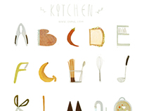 26 letters from kitchen