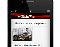 MotoRec: Image-recognition-enabled ad placing app.