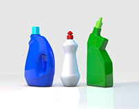 Laundry bottle