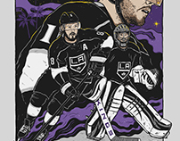 LA Kings art print giveaway