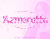 Azmerotta Monoline Font