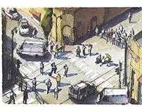 Jerusalem postcards
