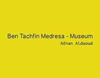 Ben Tachfin Medresa- Museum Logo design