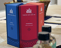 ADA TURKISH BATH AND SPA: BRANDING AND PACKAGING