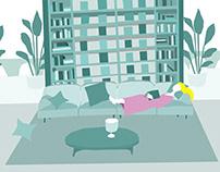 Interior illustration(personal)