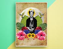 Digital Collage | Frida Kahlo
