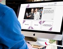Lumin Website Design Interface
