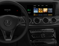 COMMAND ONLINE Concept for Mercedes-Benz