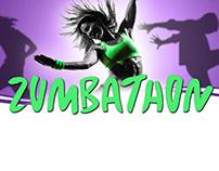 ZUMBA Marathon flyer