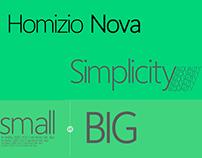 The FREE Homizio Nova Font Family!