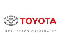 Toyota - Repuestos Originales