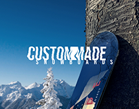 CUSTOM MADE SNOWBOARDS | 2018