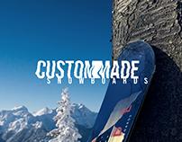 CUSTOM MADE SNOWBOARDS   2018