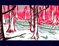 Forest research drawings