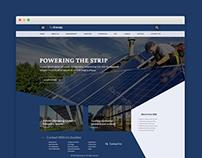 FaoEnergy : Free Ecology PSD Website Template