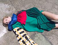 Model test shoot Model:Ely Designer: Sabiha Alganer