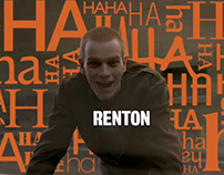 Trainspotting opening titles - kinetic typography
