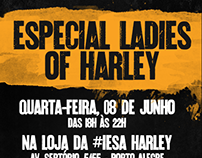 """Newsletter para """"Ladies of Harley"""""""