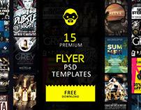 15 Premium Flyer PSD Templates Free Download