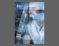 """Poster for feature film """"Horizon"""". Studio Artizm, 2018"""