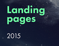 Landing pages, 2015