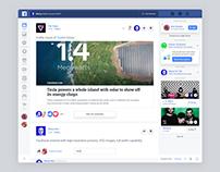 Facebook Redesign Concept