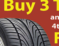 Joe's Tire & Auto web banner
