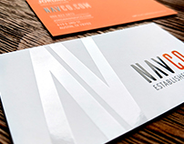 NAVCO Logo & Business Card Design