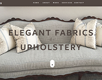 Elegant Fabrics and Upholstery