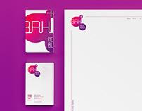 Identity for advertising agency BRH +